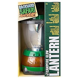 Backyard Safari Campfire Glow Lantern