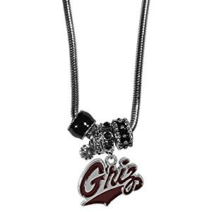 Montana Grizzlies Euro Bead Necklace by Siskiyou