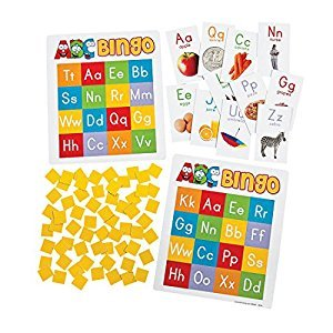 ABC Bingo Game - Classroom School Supplies - From Fun365