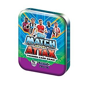 Match Attax Trading Card Tin (50 Cards)
