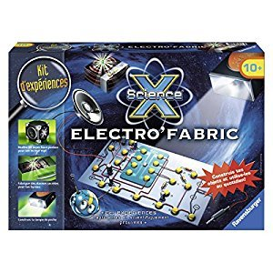Ravensburger Science X Maxi-Electro'Fabric (Français/French)