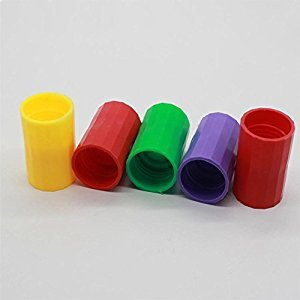 Amyove Educational Toy 5 Pieces Vortex Bottle Connectors Tornado Connector Tube for Scientific Experiment And Test
