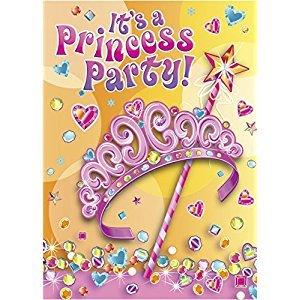 Pretty Princess Invitations, 8ct
