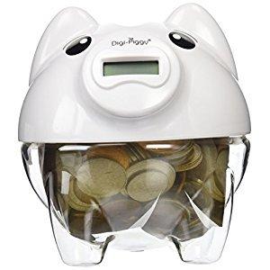 The Digi-Piggy Digital Coin Counting Bank