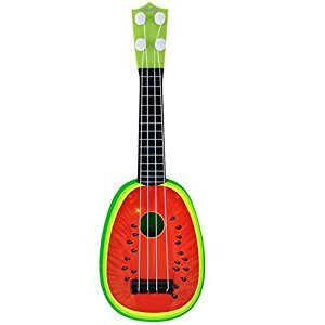 Kids Guitar Musical Instruments Educational Toys Ukulele Baby Toys Watermelon