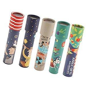 Dovewill Toddler Kaleidoscope Child's Educational Developmental Optical Toy Gift 5pcs