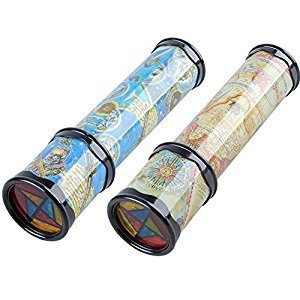 Lanlan Magical Rotating Kaleidoscope Variable Interior Scene Toys for Kids & Adults 8