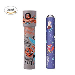 Magic Kaleidoscope Kids Classic Toy - PlayMaty 2 Pack Children Polygonal Toys Nostalgic Pupils Science Toy