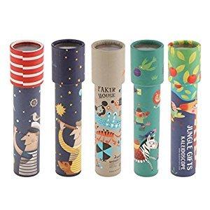MonkeyJack 19cm/ 7.5inch Kaleidoscope Children Educational Science Classic Toys 5pcs