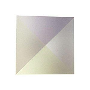 UEETEK 1Pcs 20x20x20mm Optical Glass RGB Dispersion Prism X-CUBE for Physics Teach