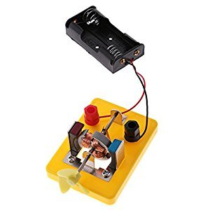 MonkeyJack Novel DIY Toy Motor Model Electrical Experiment Physics Discovery Educational Toy Student Gift