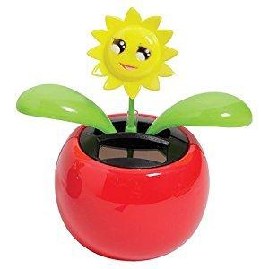 Warm Fuzzy Toys Solar Dancing Flower - Smiling Sun
