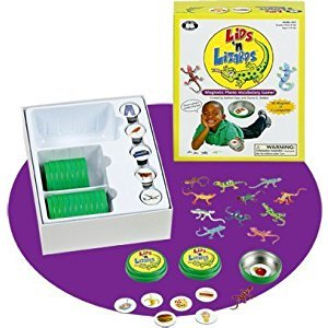 Lids 'n Lizards Magnetic Photo Vocabulary Game - Super Duper Educational Learning Toy for Kids