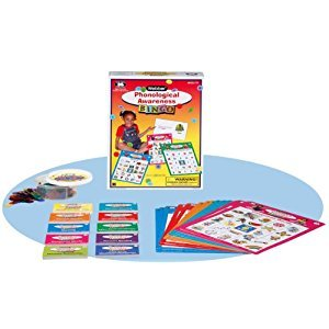 Phonological Awareness Pre-Reading & Reading Bingo Game - Super Duper Educational Learning Toy for Kids