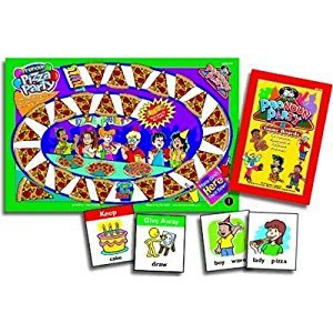 Pronoun Party Laminated, Grammar Games - Super Duper Educational Learning Toy for Kids