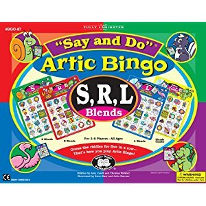 Say and Do Artic Bingo Sound Game