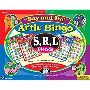 Say and Do Artic Bingo Sound Game