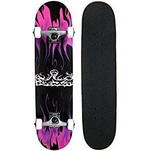 Krown Rookie Complete Skateboard (Purple Flame)(KRRC-29)