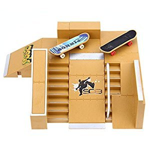 Robolife Skate Park Kit Ramp Parts for Tech Deck Fingerboard Ultimate Sport Training Props-5pcs