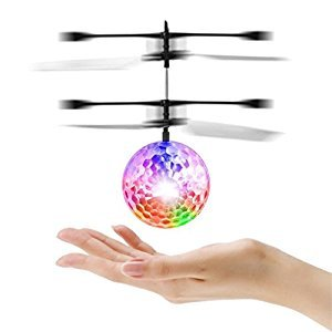 Mini Flying Ball RC Helicopter Aircraft Infrared Hand Induced Flight Toys Drone with Colorful Flashing LED Lights for Kids Teenager Adults (1)