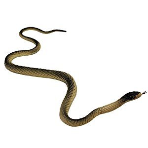 ReFaXi®Rubber Fake Snake Animal Toy Garden Props Joke Prank Toy For Kids