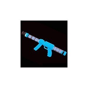 19'' Glow In The Dark Moon Blaster Gun, Blue, 1 Piece