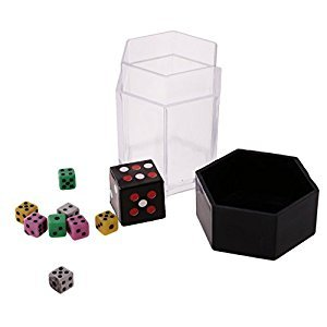 MonkeyJack DICE EXPLOSION BOMB MAGIC TRICK CHANGE DIE GIMMICK CLOSE UP NOVELTY TOY