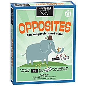 Magnetic Poetry Opposites kit