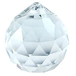 50mm Asfour Feng Shui Crystal Ball Prisms (Clear)