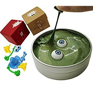 Magnetic Putty Plasticene Magic Silly Putty Made of Magnetic Mud by Magical Imaginary (green)