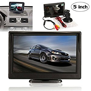 5 Inch Tft Lcd Car Rear View Backup Reverse Monitor Parking (Usa)
