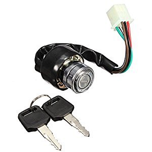 6 Wire Ignition Switch 2 Keys Universal For Car Motorcycle