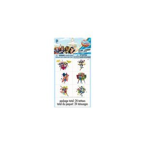 Super Hero Girls Tattoos, 24ct