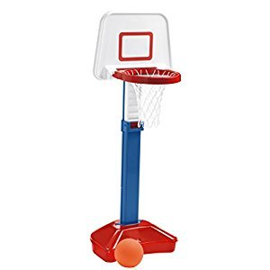 American Plastic Toys Jump and Slam Basketball Set