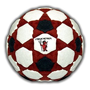Footbag Pyro 122 Panels Great Hacky Sack Pellets & Iron fast Shipping (2-5 days) from Canada!