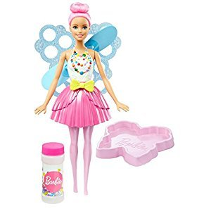 Barbie Dreamtopia Bubbletastic Fairy Doll- Light Pink