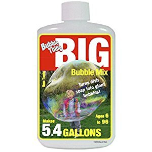 Bubble Thing BIG BUBBLES Mix - MAKES 5.4 GALLONS! - Bubbles Biggest, Costs Least!