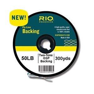 Rio 2-tone Gel Spun Fly Fishing Backing 50lb, 300yd
