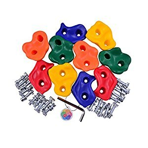 HappyPie Plastic Small Pigs Nose Rock Pegs for Kids Exercise Climbing Hold Used for Outdoor Board & Wooden Set