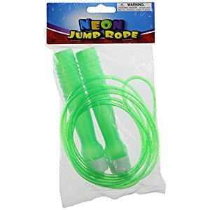 Rhode Island Novelty Neon Jump Rope Assortment, 12-Pack