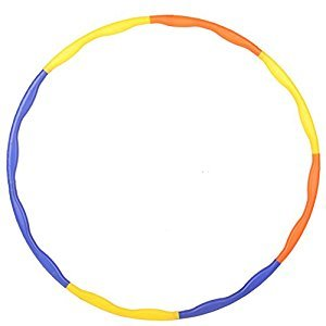 Sport Hula Snap Together Plastic Hoop 25 Inch For Kid Exercise and Play