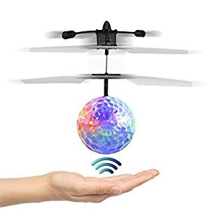 RC Flying Ball,Children Flying Toys, RC Drone Helicopter Ball Built-in Shinning LED Lighting for Kids, Teenagers - RC Toy for Children-Venas