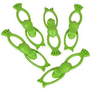 Stretchy Flying Frogs - 12 Pack