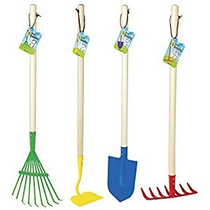 Toysmith Kids Big Garden Tool Set