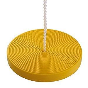 HappyPie Children Daisy Disc Seat Swing Hanging Set- Yellow
