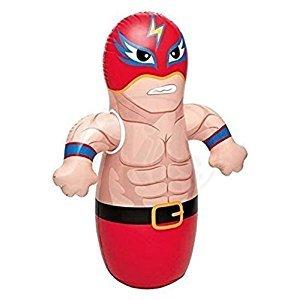 Intex 3D Bop Bag Blow Up Inflatable Wrestler