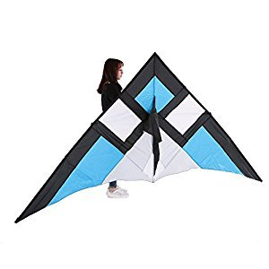 Docooler ​290*135cm Delta Wide Single Line Stunt Kite for Adults Kids Beach Vacation Family Fun