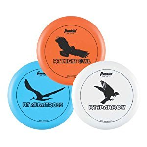 Franklin Sports Disc Golf-3 Disc Pro Set