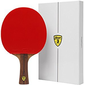 Killerspin JET800 SPEED N1 Table Tennis Paddle - Ultimate Professional Ping Pong Paddle with Carbon Layers Pared with Specially Designed Memory Book