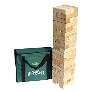 Mega Hi-Tower - Extra Tall Tumble Tower Up to 6ft During Play (Includes Carry Bag)